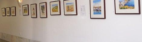Exposición de Cuadros (Margaret Merry's own photo)