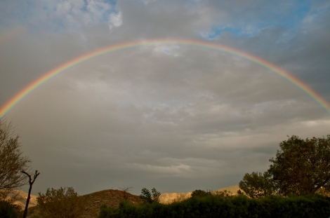 Rainbow over Valle de Rodalquilar
