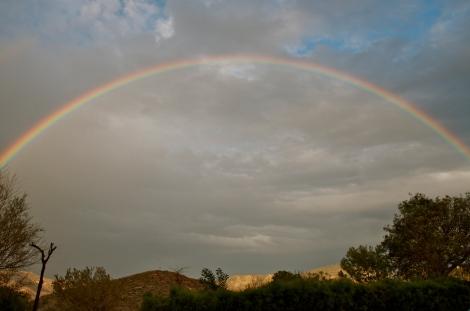 Rainbow over Valle de Rodalquilar