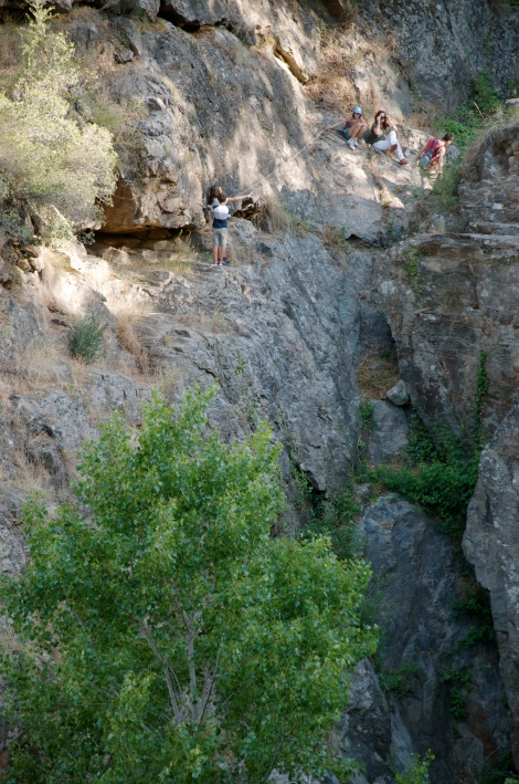 The gorge below Laroya