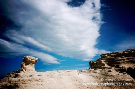 Fossilised sand dunes
