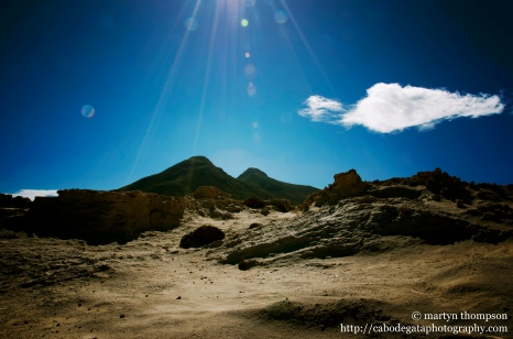 """Los Frailes & the """"lunar"""" landscape"""