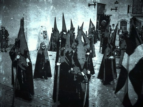 "An ""arty"" shot of Semana Santa in Níjar by Michael Wilkins"